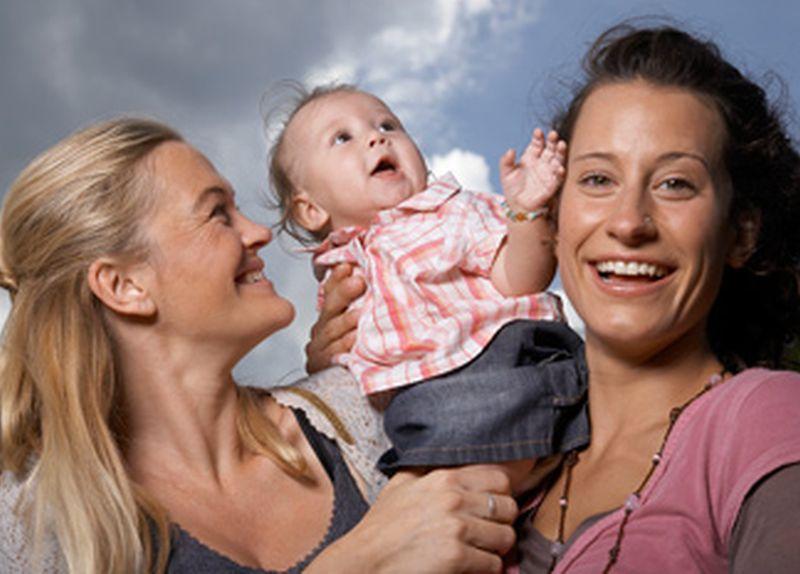 svakodnevna lezbijska mama